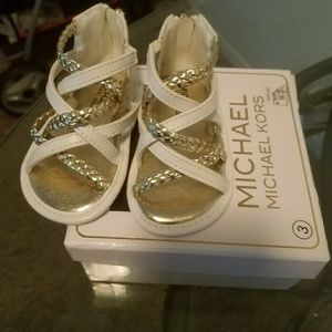 Other - BRAND NEW MICHEAL KORS BABY AMY SANDALS